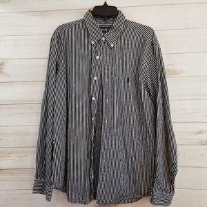 Ralph Lauren men's Classic Fit Striped Shirt XL